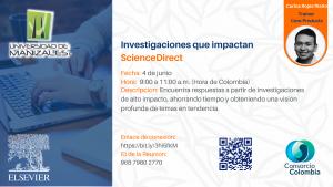 Capacitación Investigaciones de alto impacto